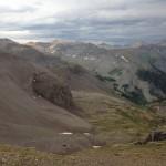 Looking back from Mendota Ridge