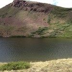 An unnamed small lake very near Cataract Lake