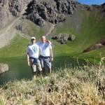 Michael and I at Island Lake