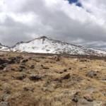 Longs from below the Boulderfield