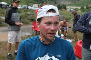 Me having a very bad day 8 miles into the race