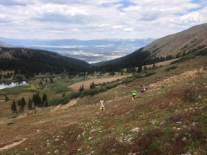 View toward Leadville from Hope Pass.