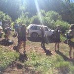 Trail work crew for Oscar's